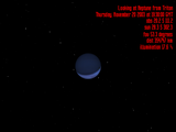 Neptune seen from Triton